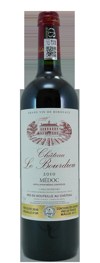 Bordeaux Chateau Le Bourdieu 2016