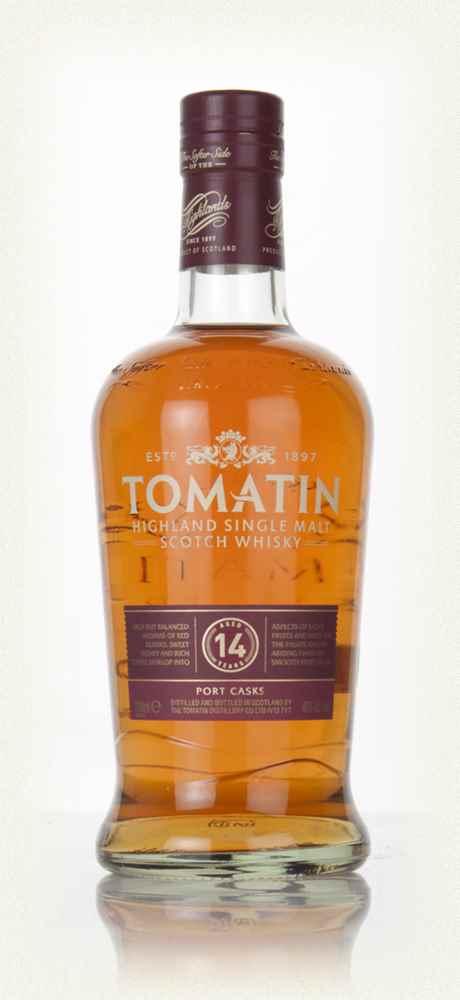 Whisky Tomatin 14 J Port